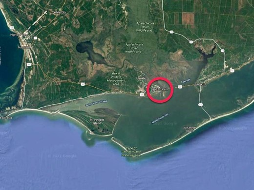 Listing #307514 located in Apalachicola, FL