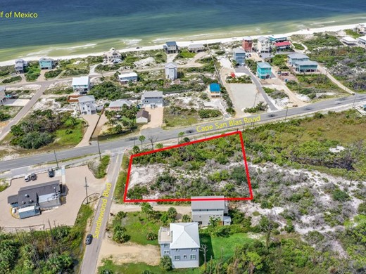 Listing #309248 located in Cape San Blas, FL