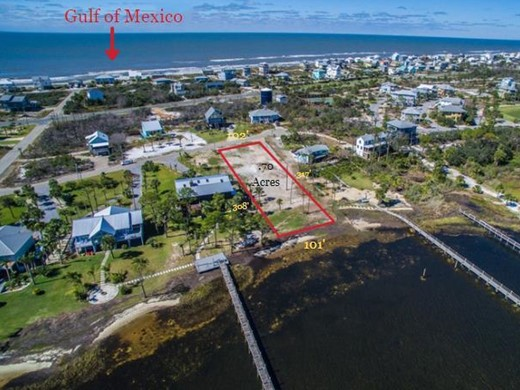 Listing #309266 located in Cape San Blas, FL